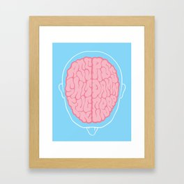 Dirty Mind Framed Art Print