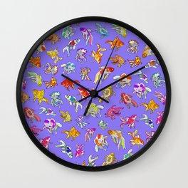 Aquarium Ultraviolet Wall Clock