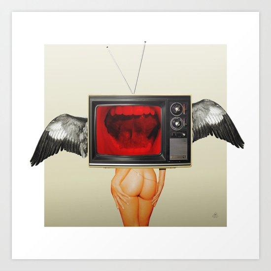 The truth is dead 13 · trump the media Art Print