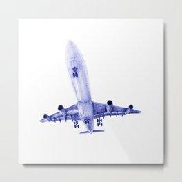 Airbus A340 Metal Print