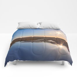 Twin Suns of Point Reyes Comforters