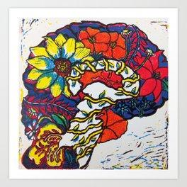 A Fertile Brain Art Print