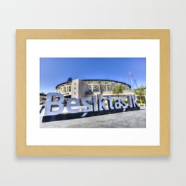 Besiktas JK Football Club Stadium Istanbul Framed Art Print