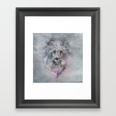 Heart like a Lion Framed Art Print