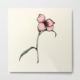 Flower 1 Metal Print