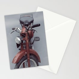 Motorcycle photography, old motorbike, man cave wall art, gift, mancave sign Stationery Cards