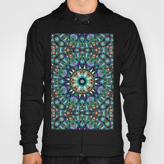 Stained Glass Abstract Hoody