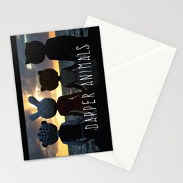 Dapper Animals Sunset Stationery Cards