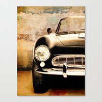 bmw Canvas Prints featuring bmw by Fernando Vieira