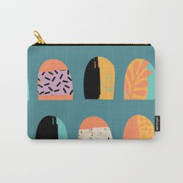 ABSTRACT COOL JUNGLE ARCHWAY PATTERN Carry-All Pouch