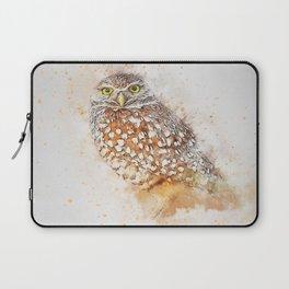 Bird animal owl art abstract Laptop Sleeve