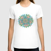 funky T-shirts featuring Funky Flower by DesignsByMarly
