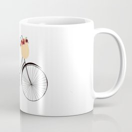 Floral Bike Coffee Mug