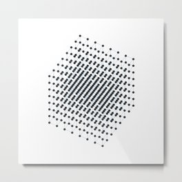 #512 2^9 – Geometry Daily Metal Print