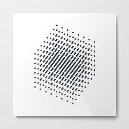 #512 2^9 – Geometry Daily Metal Print