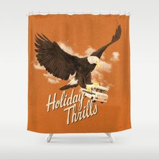 Holiday Thrills Shower Curtain