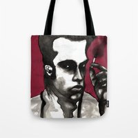 nick cave Tote Bags featuring Nick Cave by Rafols