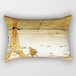 Alcoholics Anonymous at Tour Eiffel Rectangular Pillow