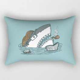 The Dad Shark Rectangular Pillow