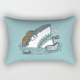 The Dad Shark Rectangular Pillow