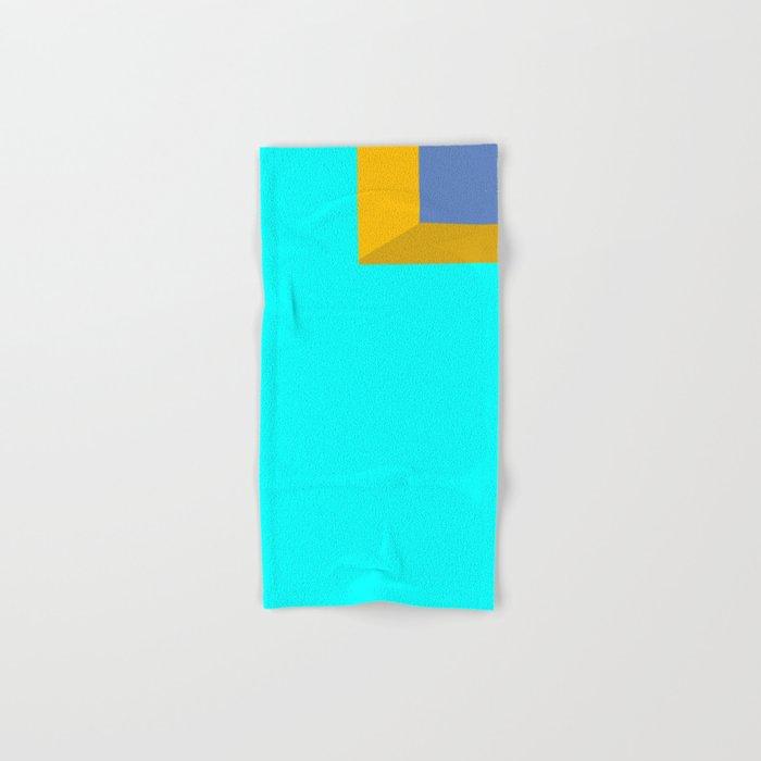 Ocean View #minimal #art #buyart Hand & Bath Towel