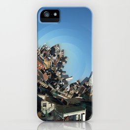 Spinning City iPhone Case