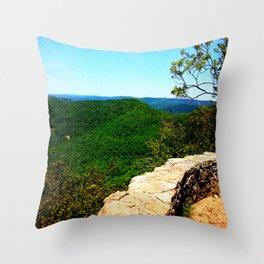 Ozark Vista Throw Pillow