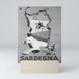Affiche ENIT Sardegna Mini Art Print