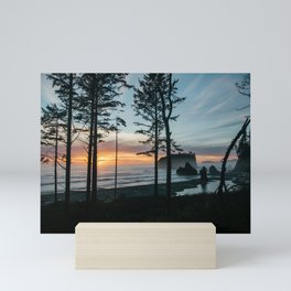 Ruby Beach Sunset Mini Art Print