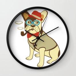 Bull-gentledog  Wall Clock