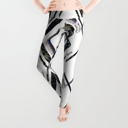 An abstract geometric pattern.1 Leggings
