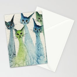 Lakeland Whimsical Cats Stationery Cards