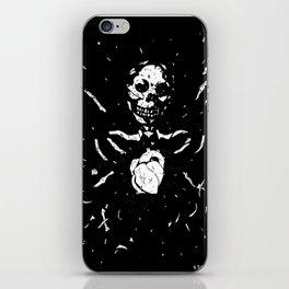 Worship the dark III iPhone Skin