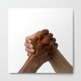 Diversity Hands Metal Print