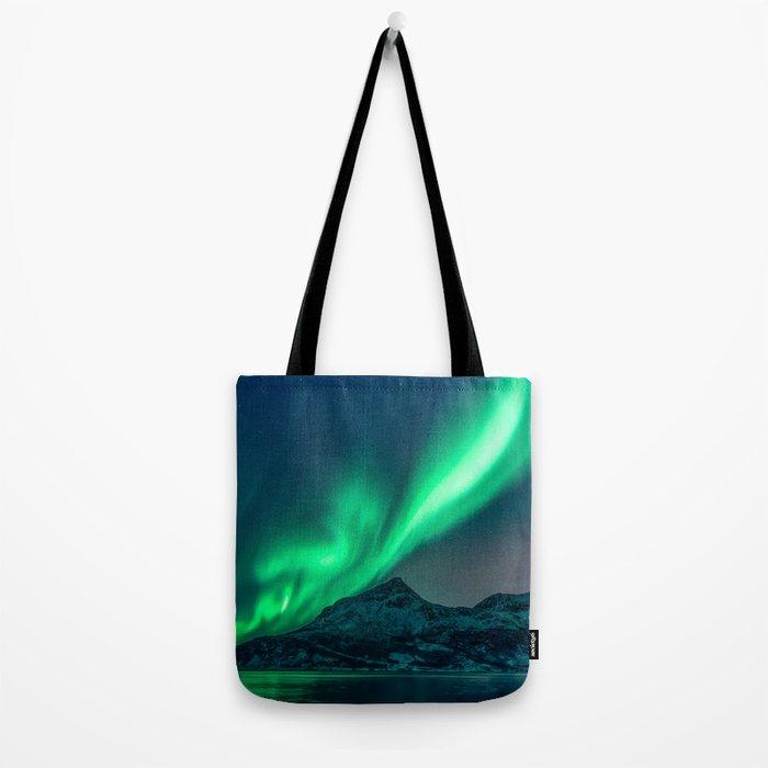 Aurora Borealis (Northern Lights) Tote Bag