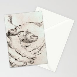 Study Hands Stationery Cards