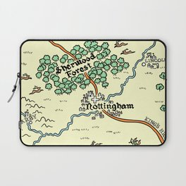 Sherwood Forest Laptop Sleeve