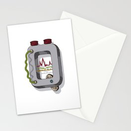 MACHINE LETTERS - Q Stationery Cards