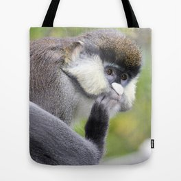 Red Tailed Monkey Tote Bag