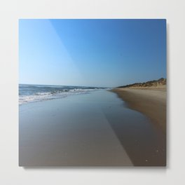 Longing For This Beach Metal Print