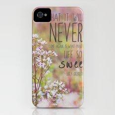 the sweet life  iPhone (4, 4s) Slim Case