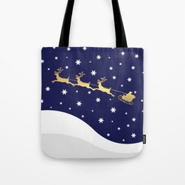 Christmas Santa Claus Tote Bag