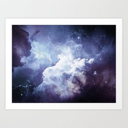 A Sky Made of Diamonds Art Print