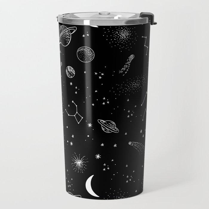 galactic pattern Travel Mug