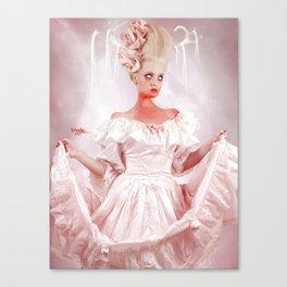 Lady Blood Canvas Print