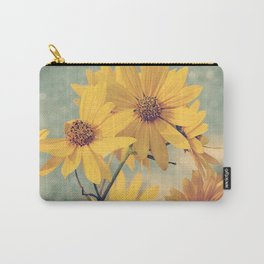 Maximiliani, Perennial Sunflower Carry-All Pouch