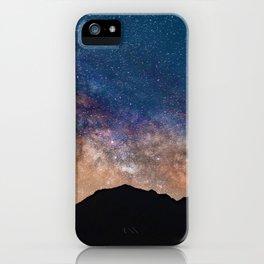 Mountain Galaxy (Color) iPhone Case