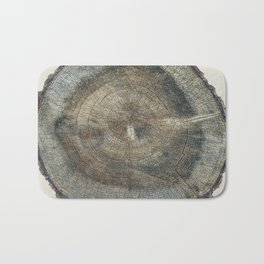 Stump Rings Bath Mat