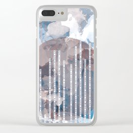 I carry your heart Clear iPhone Case