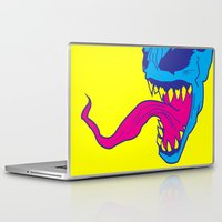 venom Laptop & iPad Skins featuring Venom. by Hussein Ibrahim